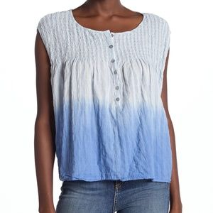 Free People Little Bit of Something Ombre Blue